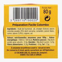 Préparation facile Colombo Le Coq Noir