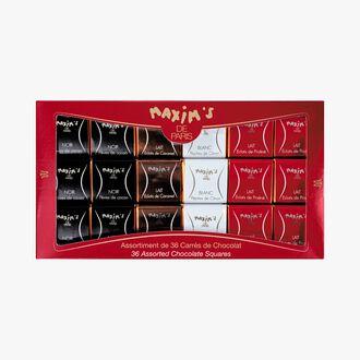 36 carrés de chocolat Maxim's
