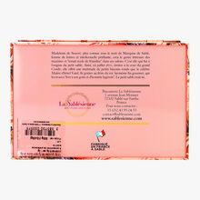 """Boîte """"1670 Marquise de sablé""""  assortiment de sablés natures, sablés  caramel et sablés pépites de chocolat La Sablésienne"""