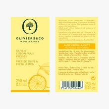 Olive & Citron frais pressés Oliviers & Co