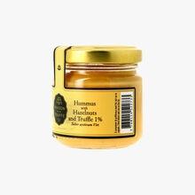 Houmous avec noisettes et truffe d'été 1 % - Tuber aestivum vitt Maison de la Truffe