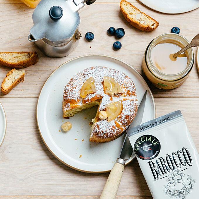 Hazelnut brioche with candied lemon Recette proposée par La Grande Épicerie de Paris