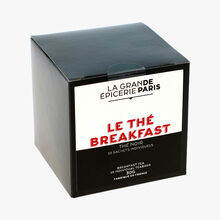 Le thé breakfast thé noir 15 sachets individuels La Grande Épicerie de Paris