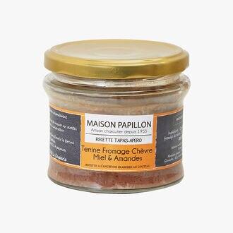 Goat's Cheese, Honey & Almond Terrine Maison Papillon