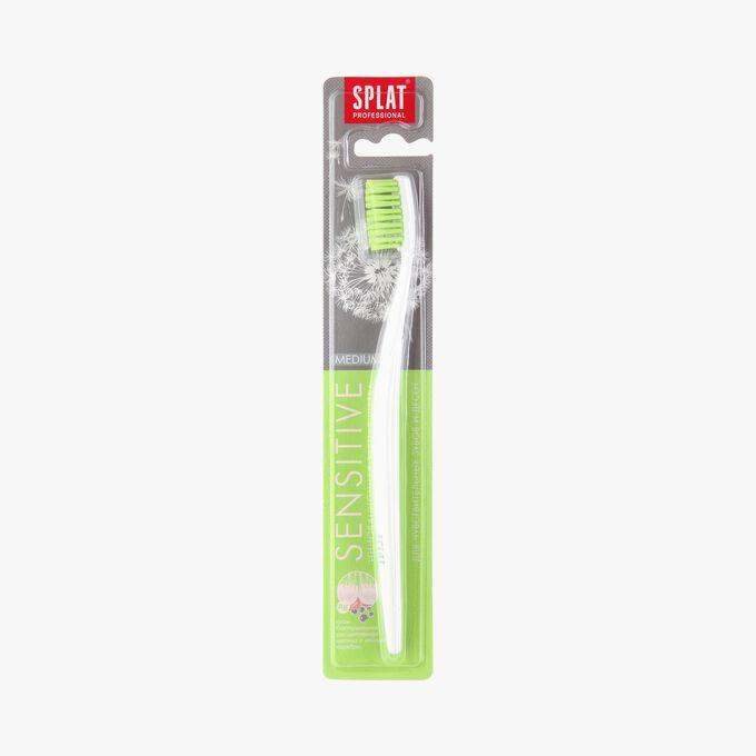 Toothbrush for sensitive teeth, medium bristles Splat