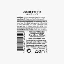 Monts du Lyonnais apple juice La Grande Épicerie de Paris