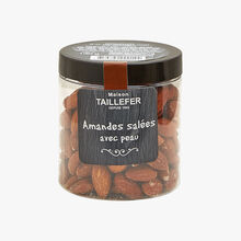 Salted almonds with skins Maison Taillefer