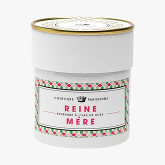 Reine-Mère, rhubarb and rose water Confiture Parisienne