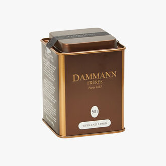 Thé Oolong parfumé Week-End à Paris N° 501 Dammann Frères