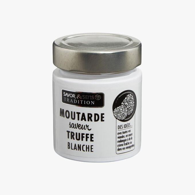 White truffle-flavoured mustard Savor & Sens