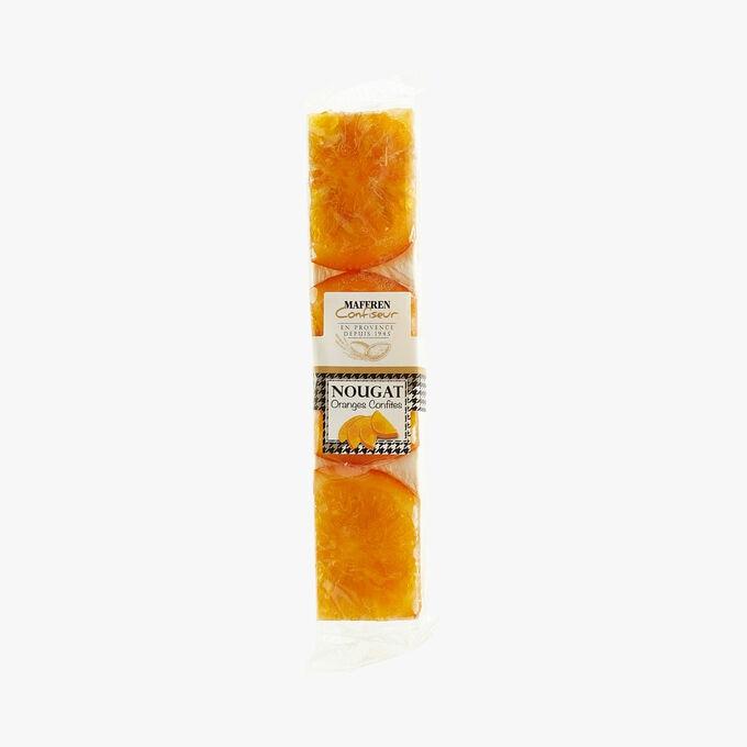 Nougat - Candied orange Maffren