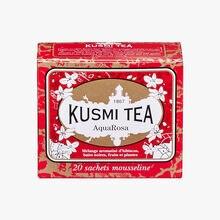 Aqua rosa boîte de 20 sachets Kusmi Tea
