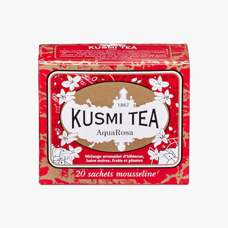 AquaRosa, box of 20 teabags Kusmi Tea