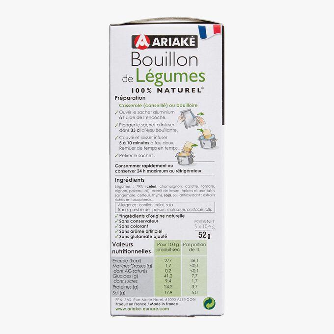 Bouillon de légumes Ariaké