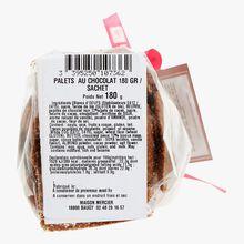Palets au chocolat & pépites Daniel Mercier
