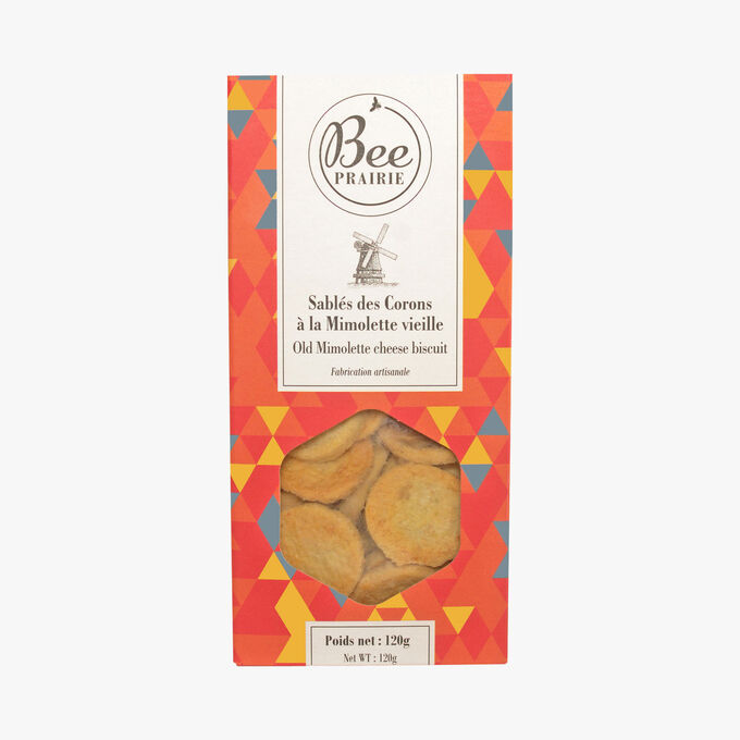 Old Mimolette Cheese biscuits Bee Prairie