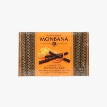 Orangettes au chocolat noir Chocolaterie Monbana