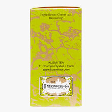 Almond Green Tea, box of 20 teabags Kusmi Tea