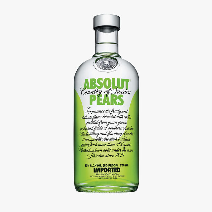 Vodka Absolut Pears Absolut