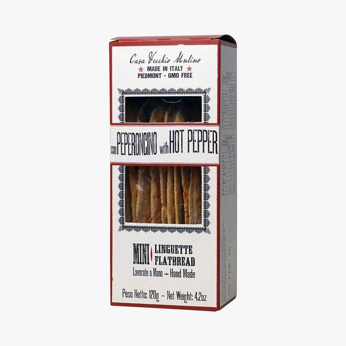 Mini flatbreads with chili Casa Vecchio Mulino