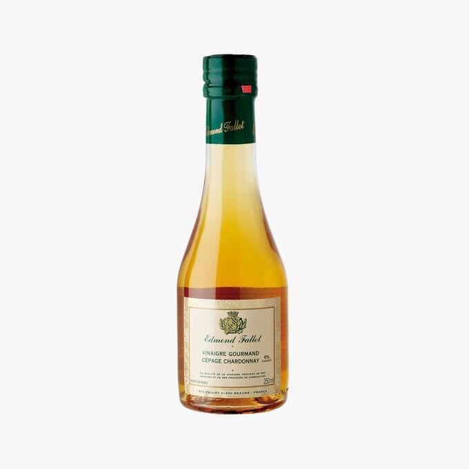 Vinaigre cépage Chardonnay 6% acidité au moût de raisin  Fallot
