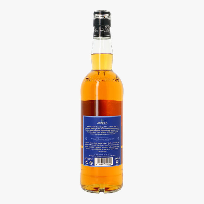 Whisky de Bretagne single malt, double maturation Armorik Whisky Breton