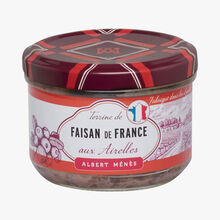 Terrine de faisan de France aux airelles Albert Ménès