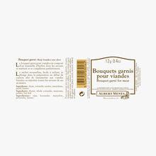 Bouquets garnis pour viandes Albert Ménès