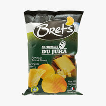 Potato crisps with Jura cheese. Bret's