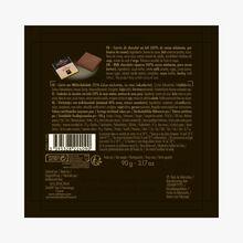 Box of 18 milk chocolate squares, Jivara Valrhona