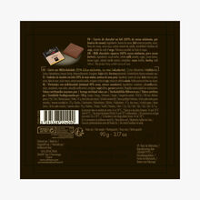 Box of 18 milk chocolate squares, Jivara Valrhona