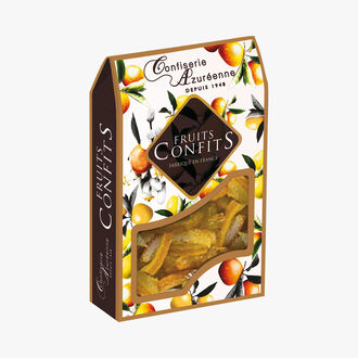 Candied lemon peel strips Corsiglia