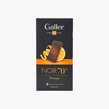 Chocolat noir 70% - orange Galler