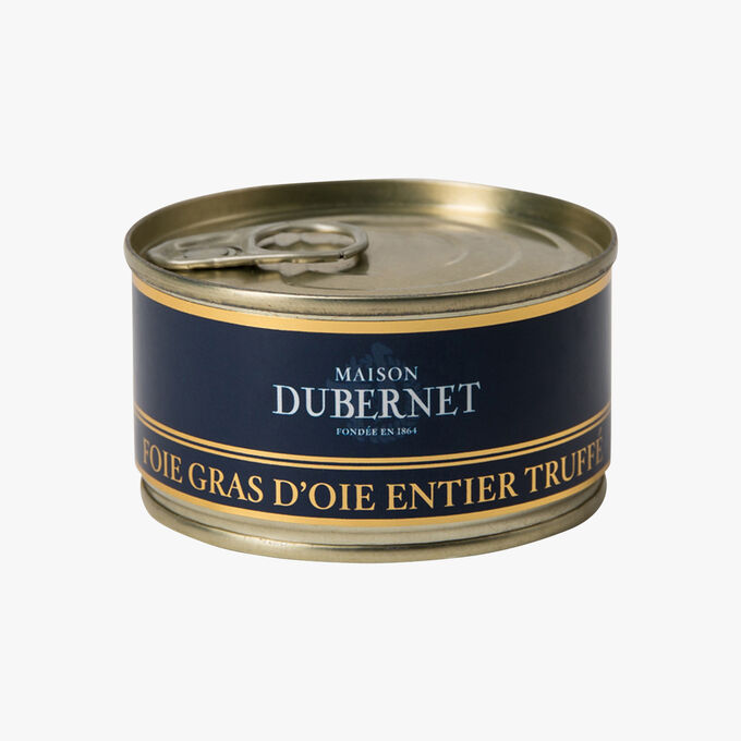 Whole duck foie gras from South West France   Maison Dubernet