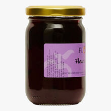 Sweet mixture made from violet flowers Confiserie Florian