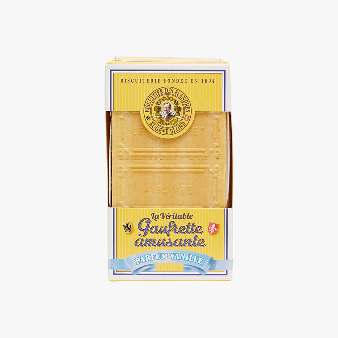 Gaufrettes double fourrage parfum vanille Biscuiterie Eugène Blond