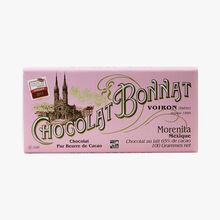 Tablette Morenita Mexique chocolat au lait 65% de cacao Bonnat