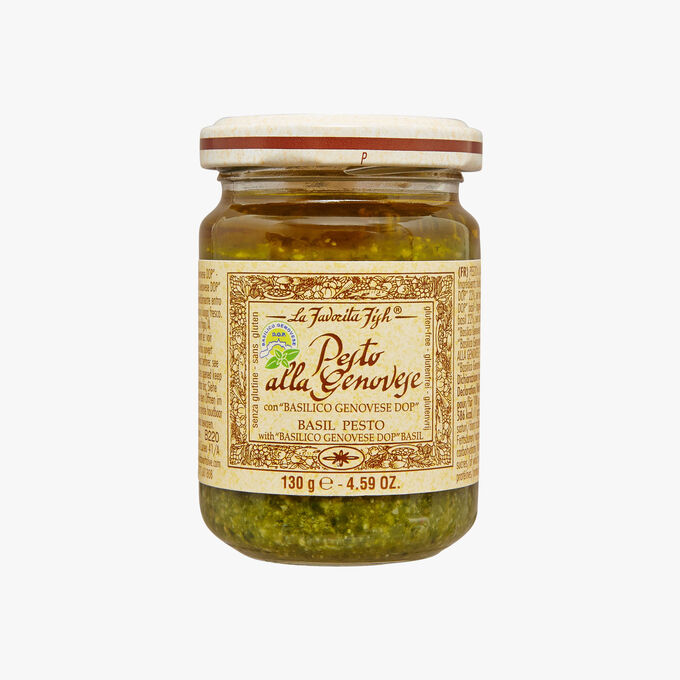 Pesto à la génoise avec basilic Basilico Genovese DOP La Favorita