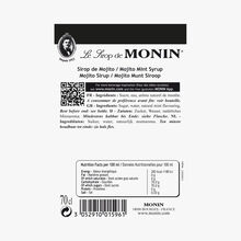 Mojito mint cordial  Monin