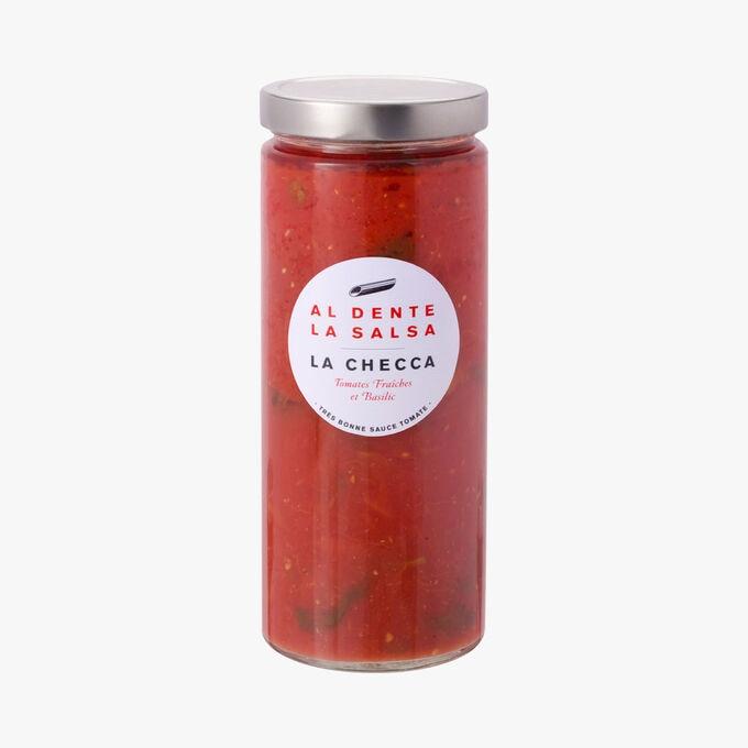 La Checca, tomates fraîches et basilic Al dente la salsa