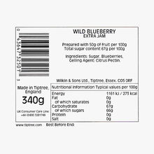 Blueberry extra jam Wilkin & Sons