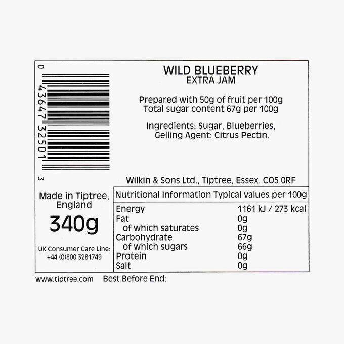 Blueberry extra jam Wilkin & Sons
