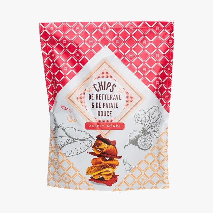 Chips de betterave et de patate douce Albert Ménès