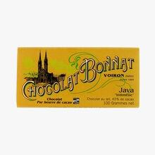 """Milk chocolate, 65 % cocoa - Java """"Indonesia"""" Bonnat"""