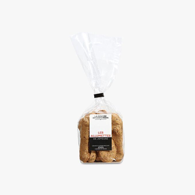 Biscuits craquants aux amandes torréfiées et sucre Muscovado La Grande Épicerie de Paris