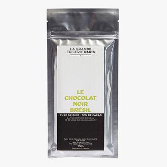 Chocolat noir du Brésil 72% de cacao La Grande Épicerie de Paris