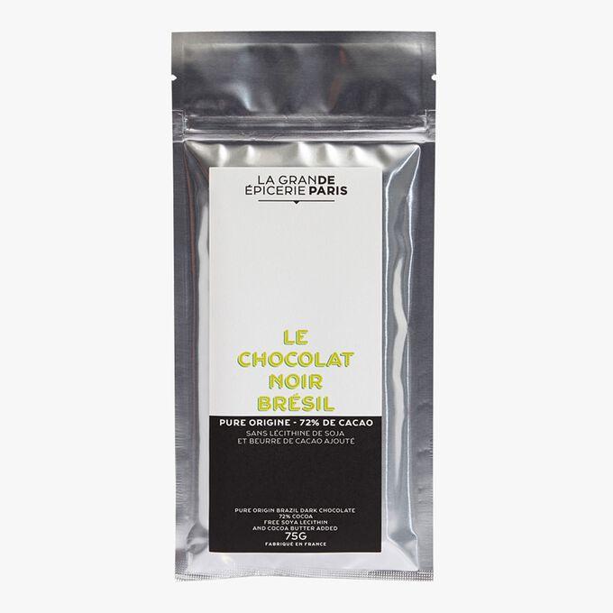 Dark chocolate from Brazil, 72% cocoa La Grande Épicerie de Paris