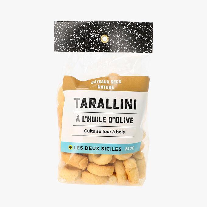 Tarallini à l'huile d'olive Les deux siciles