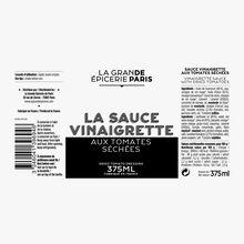 Sauce vinaigrette aux tomates séchées La Grande Épicerie de Paris