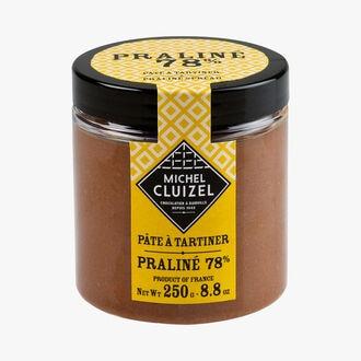 Pâte à tartiner au praliné 78% Michel Cluizel